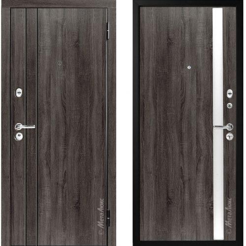 Metāla durvis M33/2 dzīvoklim no M-Lux.