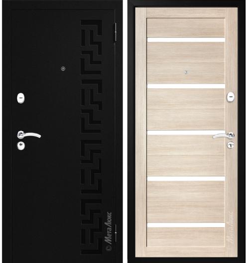Metāla durvis M524 mājai, vasarnīcai vai dzīvoklim.
