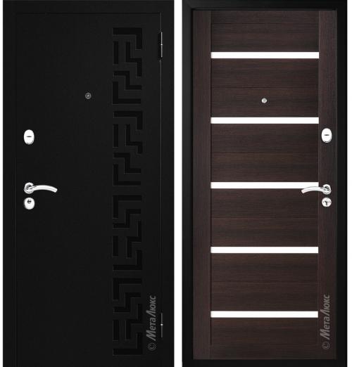 metāla durvis dzīvoklim un mājai