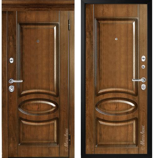 Metāla durvis dzīvoklim M-Lux