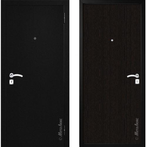 Lētas metāla durvis, cena tikai 164,00 Eur.