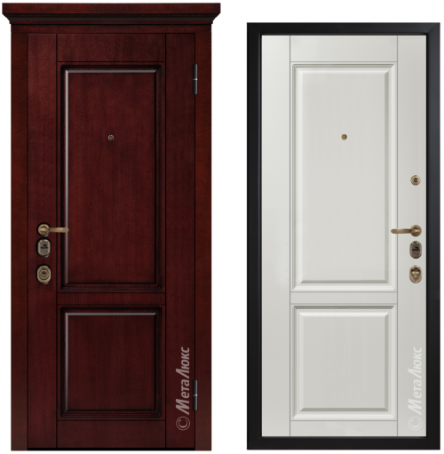 Metāla durvis ArtWood M1706/4 E2 ar mūsdienīgu dizainu