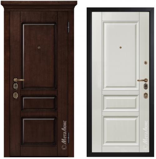 Dzelzs durvis ArtWood dzīvoklim vai mājai M1707/6 E2