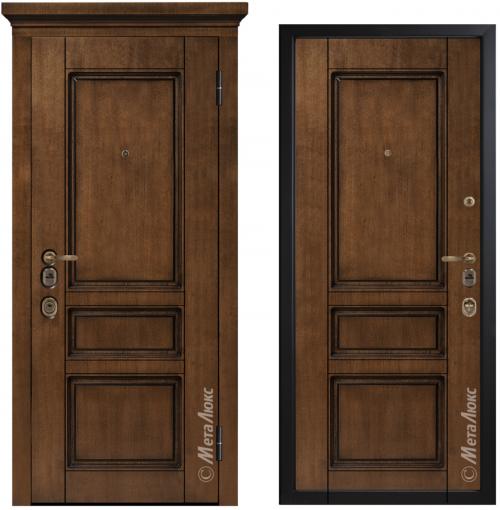 Dzelzs durvis ArtWood dzīvoklim vai mājai M1707/9