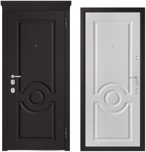 Metāla durvis ir gaumīga diziana un drošības apvienojums.