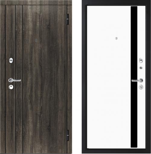 Metāla durvis M33/4 dzīvoklim no M-Lux.