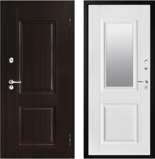Tērauda durvis ar spoguli M34/2Z