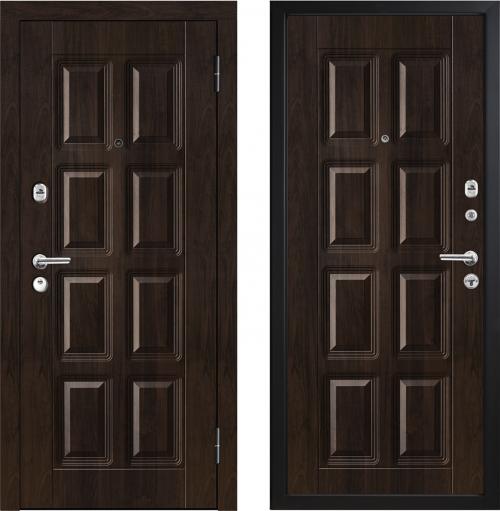 Metāla durvis mājai un dzīvoklim M396/2