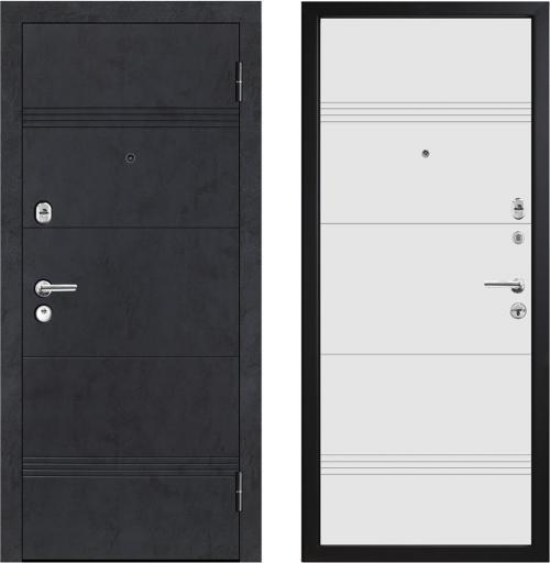 Metāla durvis mājai un dzīvoklim M397