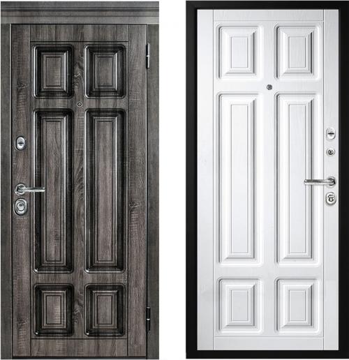 Metāla durvis M706/3 ar mitrumizturīga Vinorit mdf apdari.